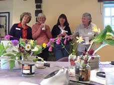 Some of the ladies enjoying a coffee break at a Billy Showell Day June 09