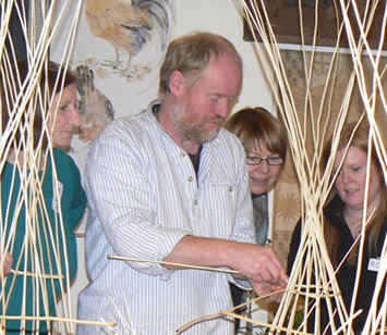 Willow Weaving and Willow Sculpture Days with Phil Bradley A Quirky workshop at Greystoke Cycle Cafe