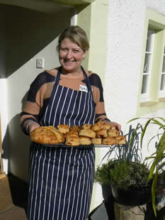 Scone Making Quirky Cookery Workshop at Greystoke Cycle Cafe