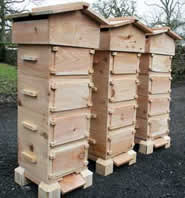 Warre-hive Building at Greystoke