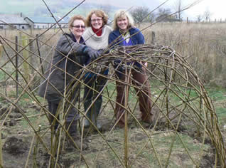 A Living Willow Workshop with Phil Bradley and Greystoke Cycle Cafe