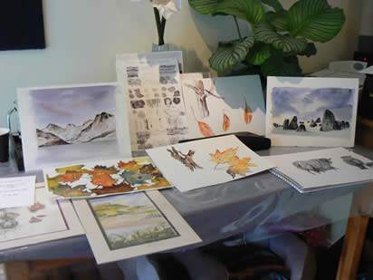 Introduction to Pen and Wash with Margaret Jarvis at Greystoke