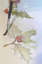 Learning all about Pen and Wash with Margaret Jarvis
