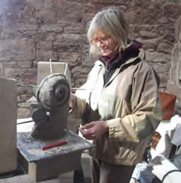 Your course with Simon will take place in the Cyclist stone barn - a lovely work space